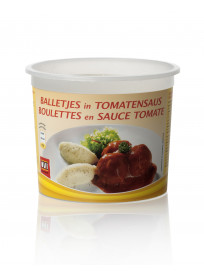 "Literpot Ø 130/105  ""Balletjes in tomatensaus"""